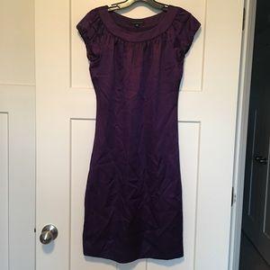 Banana Republic Purple Silk Dress XS
